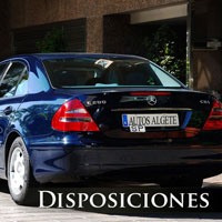 coches para disposiciones en madrid